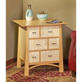 Media-Storage End Table Woodworking Plan, Furniture Tables Furniture Cabinets & Storage