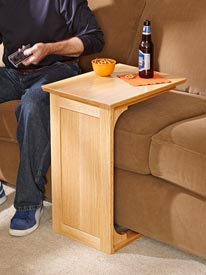 Sofa Server Woodworking Plan, Furniture Tables
