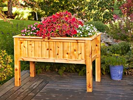 Raised Planter Box Downloadable Plan