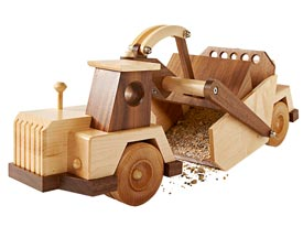 Construction-Grade Scraper Woodworking Plan, Toys & Kids Furniture