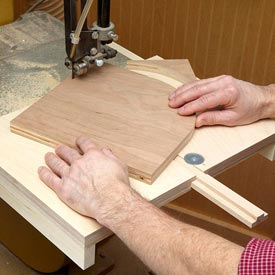 Bandsaw Circle Jig Downloadable Plan