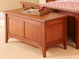 Traditional Blanket Chest Woodworking Plan, Furniture Chests Furniture Beds & Bedroom Sets