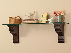 Architectural Shelf Brackets Woodworking Plan, Furniture Bookcases & Shelving Gifts & Decorations Scrollsaw, Carving, & Decorative Projects