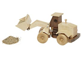 Construction-Grade End Loader Woodworking Plan, Toys & Kids Furniture