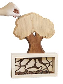 """Money Tree"" Coin Bank Downloadable Plan"
