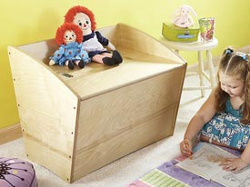 Toy Box and Bench Downloadable Plan