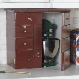 Kitchen Appliance Garage Downloadable Plan
