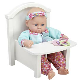 Darling Doll Chair Woodworking Plan, Toys & Kids Furniture
