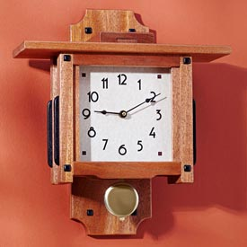 Greene & Greene Wall Clock Downloadable Plan