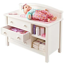 Doll Changing Table Woodworking Plan, Toys & Kids Furniture