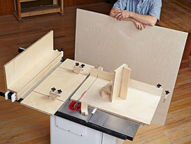 5 Essential Tablesaw Jigs Downloadable Plan