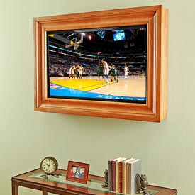TV Frame Woodworking Plan, Furniture Entertainment Centers