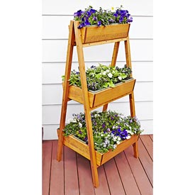 Easy A-Frame Planter Woodworking Plan, Outdoor Planters