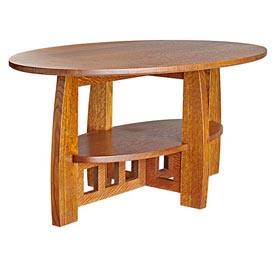 Limbert-style Coffee Table Downloadable Plan