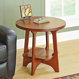 Limbert-style End Table Limbert-style End Table,Woodworking Plans,Furniture,Tables,WOOD Issue 236, November 2015,2015,Intermediate,Living Room,Arts and Crafts, Mission