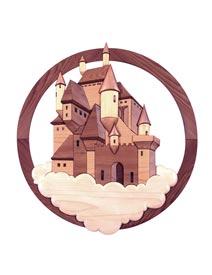 Castle Intarsia Pattern