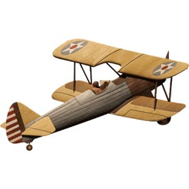 Antique Plane Intarsia Pattern