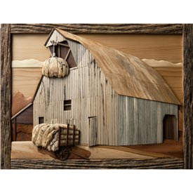 Hay Barn Woodworking Plan, Gifts & Decorations Scrollsaw, Carving, & Decorative Projects