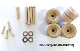 Construction-Grade Side Dump Trailer Project Kit