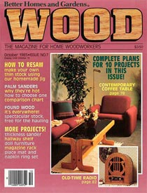 WOOD Issue 7, October 1985, WOOD Magazine