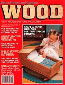 WOOD Issue 30, August 1989, WOOD Magazine
