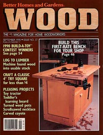 WOOD Issue 37, September 1990, WOOD Magazine