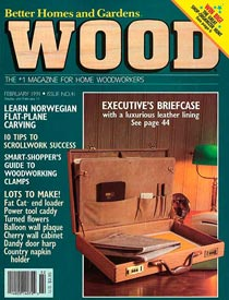 WOOD Issue 41, February 1991, WOOD Magazine
