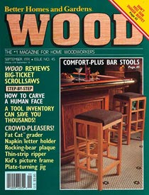 WOOD Issue 45, September 1991, WOOD Magazine