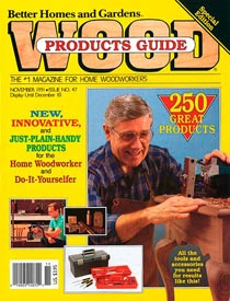 WOOD Issue 47, November 1991, WOOD Magazine
