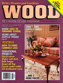 WOOD Issue 49, January 1992, WOOD Magazine