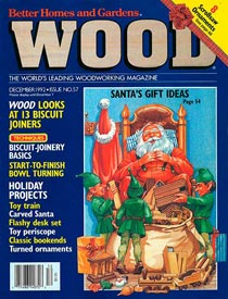 WOOD Issue 57, December 1992, WOOD Magazine