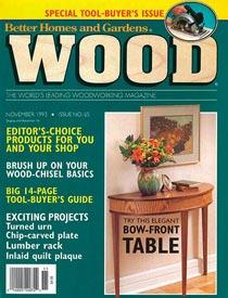 WOOD Issue 65, November 1993, WOOD Magazine