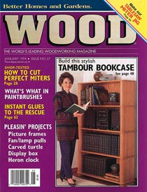 WOOD Issue 67, January 1994, WOOD Magazine
