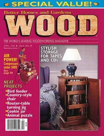 WOOD Issue 69, April 1994, WOOD Magazine