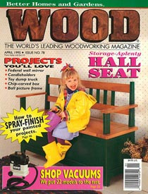 WOOD Issue 78, April 1995, WOOD Magazine