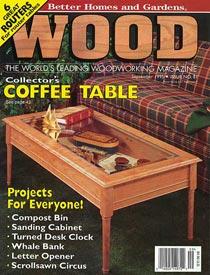 WOOD Issue 81, September 1995, WOOD Magazine