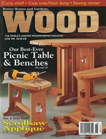 WOOD Issue 88, June 1996, WOOD Magazine