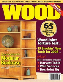 WOOD Issue 181, December/January 2007/2008
