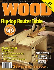 WOOD Issue 211, May 2012
