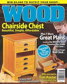 WOOD Issue 229, November 2014