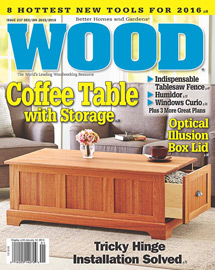 WOOD Issue 237, December 2015/January 2016 WOOD Issue 237, December 2015/January 2016,Books & Magazines,WOOD Magazine, WOOD Issue 237, December 2015/January 2016, Magazine or Book