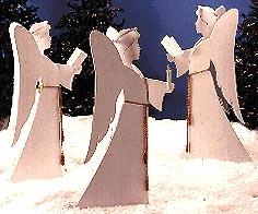 Angelic Chorus : Large-format Paper Woodworking Plan