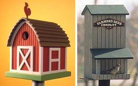 Birdhouse/Birdfeeder : Large-format Paper Woodworking Plan