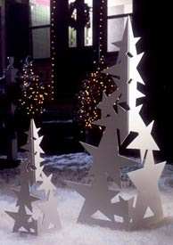 Simply Stellar Christmas Trees : Large-format Paper Woodworking Plan
