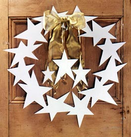 Heavenly Holiday Wreaths : Large-format Paper Woodworking Plan
