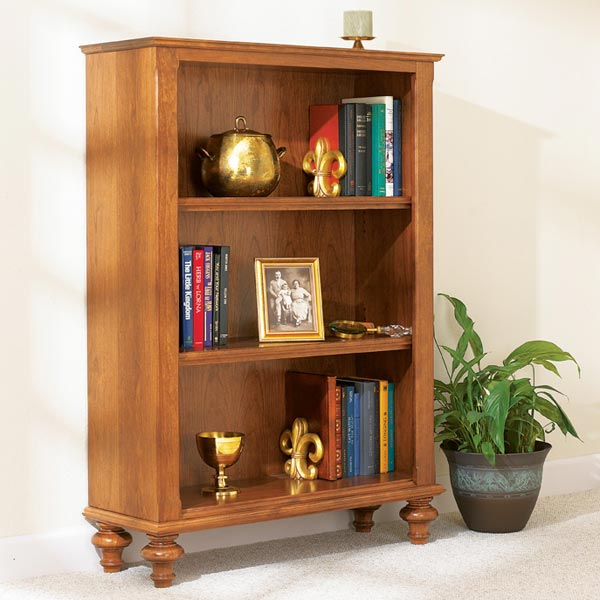 Build-in-a-weekend Bookcase Woodworking Plan From WOOD