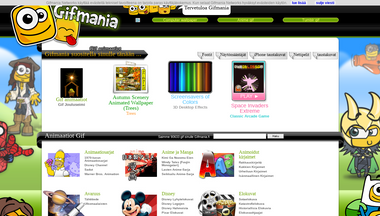 gifmania.fi Screenshot