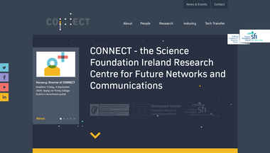 connectcentre.ie Screenshot