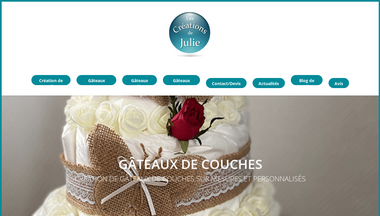 gateau-de-couche.fr Screenshot