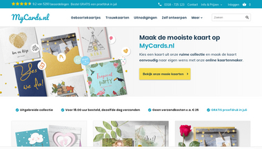 mycards.nl Screenshot